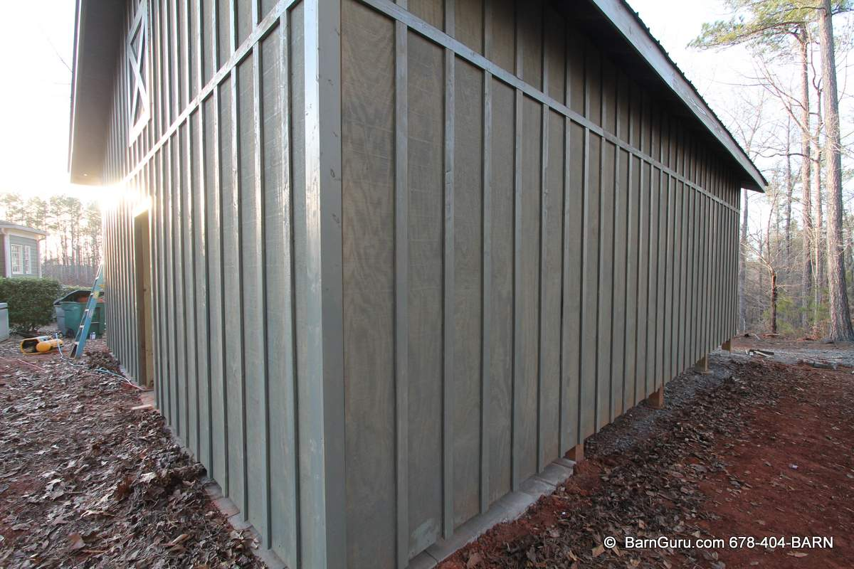 Tractor Shed With Lean Too 24 X 24 Farm Building