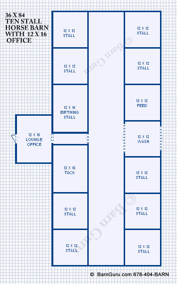 Horse Barn Plans With Apartment - Best Horse 2017