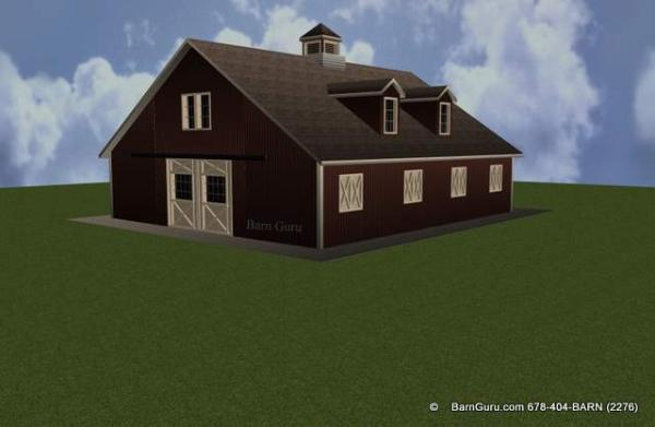 Barn plans with apartment above joy studio design for Barns with apartments above