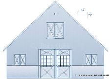 Shed wood design buy 36 x 36 pole barn plans for Pole barn roof pitch