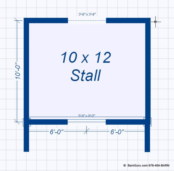 horse stall plans
