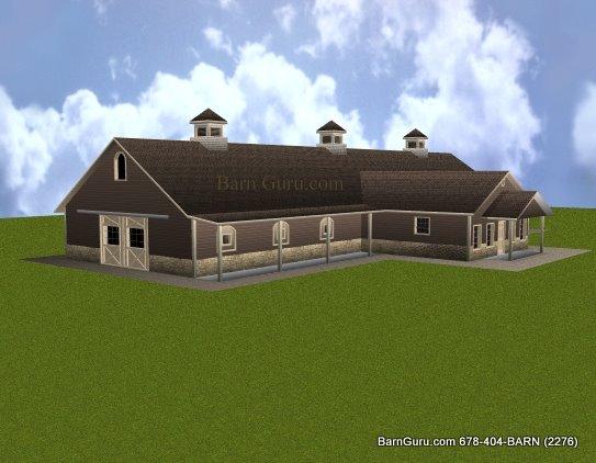 12 stall horse barn plans for 8 stall barn plans