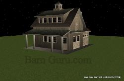 Old Style Barn For Garage