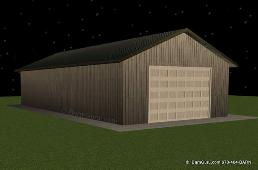 24 x 50 Tractor Shed