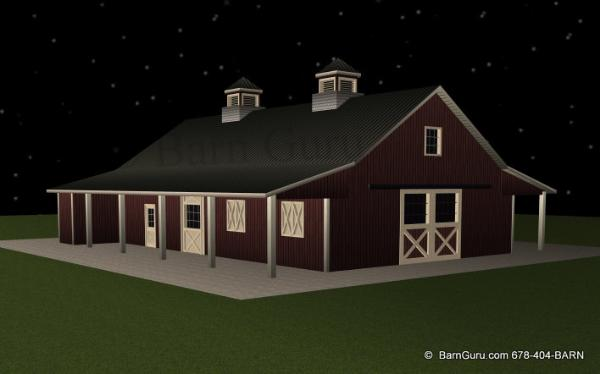 barn designs barn plans 7 stall horse barn design floor plan
