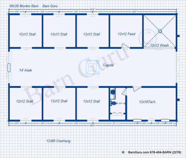 beautiful 8 stall horse barn plans 1 fp129