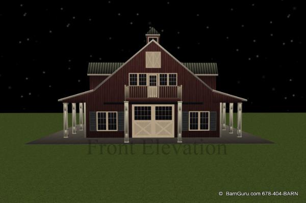 Barn plans with apartment above latest bestapartment 2018 for Horse stable plans with living quarters