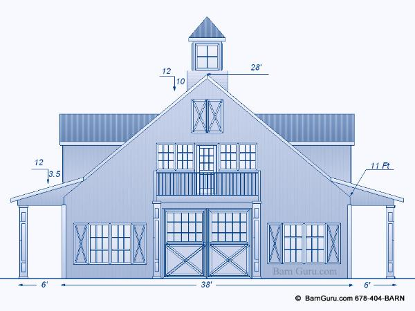 Barn plans with living quarters joy studio design for Barn plans with living quarters