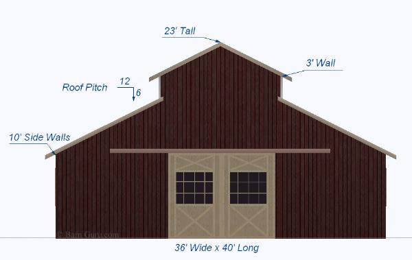 Monitor barn plans joy studio design gallery best design for Monitor barn kit