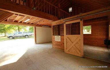 View our work as we restore and update this older horse Barn