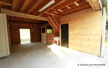 Tongue And Grove Yellow Pine For Tack Room In This Restore Of A Horse Barn