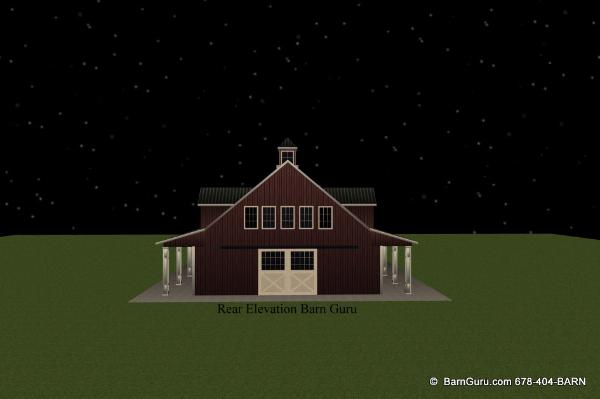 exceptional design - exceptional build quality - horse barn