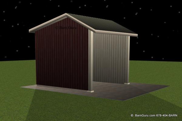 Shed Storage For Hay And Shavings Run In Plans