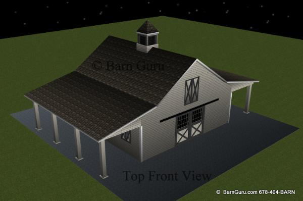Horse Barn Builder In Georgia _ Horse Barn Plans For Sale