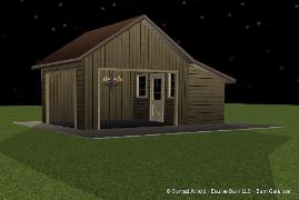 Accessory Building For A Horse Barn
