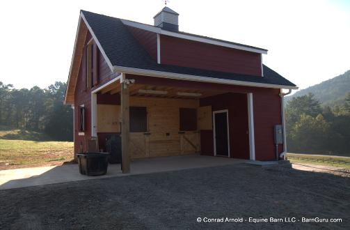 Horse barns and arena 39 s on pinterest stalls horse for Two stall barn plans