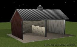 Run Ins Horse Sheds Designs View Our Plans Ga