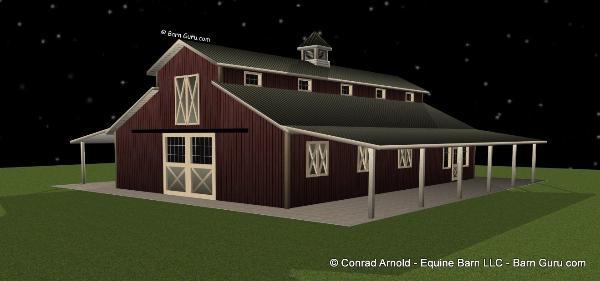6 stall horse barn plans for 6 stall barn plans