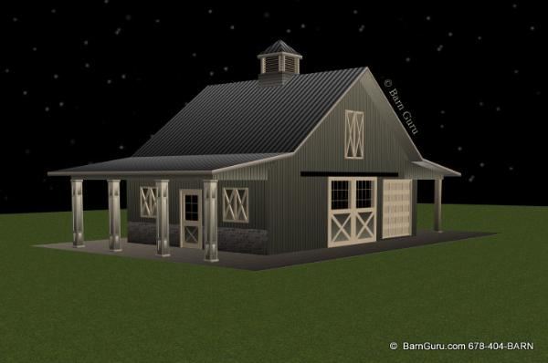2 stall horse barn plan with loft barn builder in north ga 2 stall horse barn
