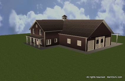 Shedplan pole barn house plans indiana for Pole barn home kits indiana