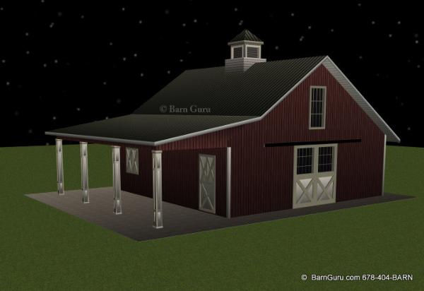4 stall horse barn plans the image kid for 4 stall horse barn