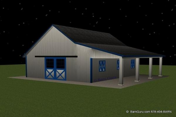 4 Stall Horse Barn Plans Car Interior Design