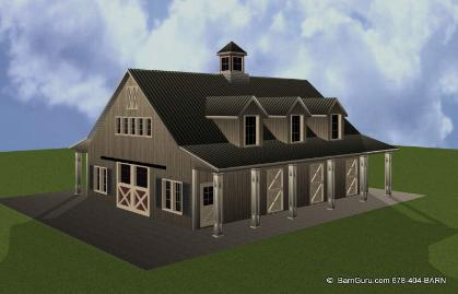 Horse barn apartment joy studio design gallery best design for Barns with apartments above