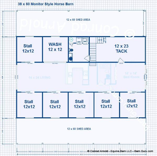 Barn plans design floor plan for 10 stall horse barn floor plans
