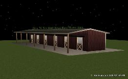 Barn Plans Shed Row Barn Breeze Way Barn Design
