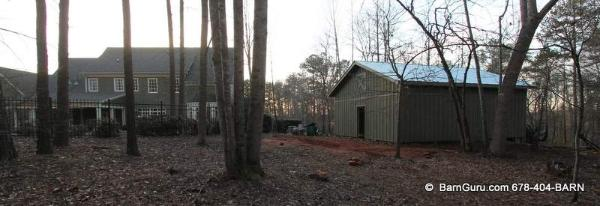 Nice Shed Close To Home owner - Barn Builder In Ga
