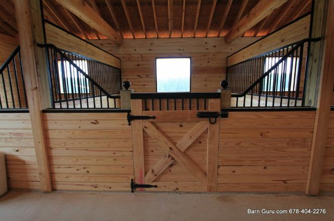 Barn Plans 10 Stall Horse Design Floor Plan