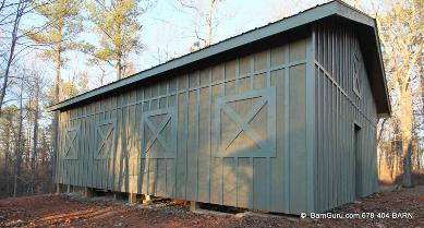 Tractor Sheds Built In Ga - Custom Built  Anywhere in N Ga
