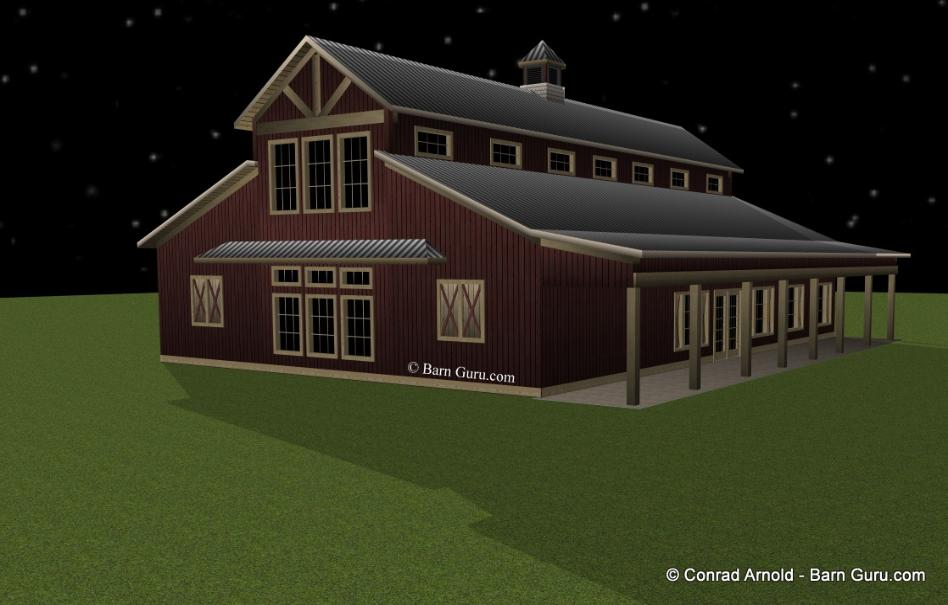Event Barn Plans For Sale