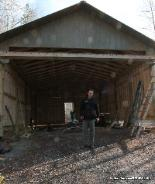 Conrad Arnold At Work Building The Best Shed And Horse Barns In Ga