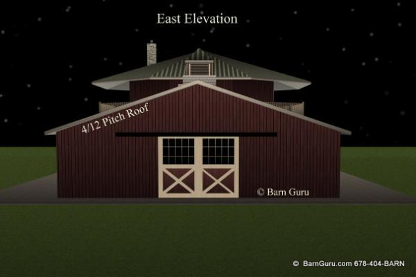 Crav instant get small horse barn plans with living quarters for 4 stall barn designs