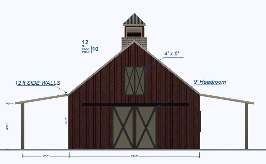 Event Barn Entertainment Design Floor Plan
