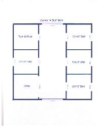 Four stall horse barn plans blueprints for Four stall barn plans