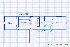 Horse barns with living quarters floor plans for Monitor barn plans with living quarters