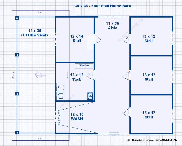 4 stall horse barn plans the image kid for 4 stall horse barn plans