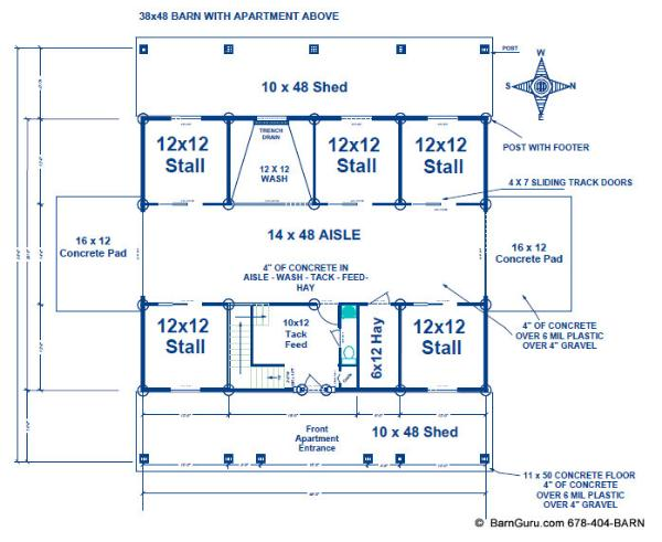 Barn Plans Example