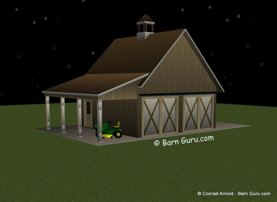 Tractor barn plans for Building a tractor barn