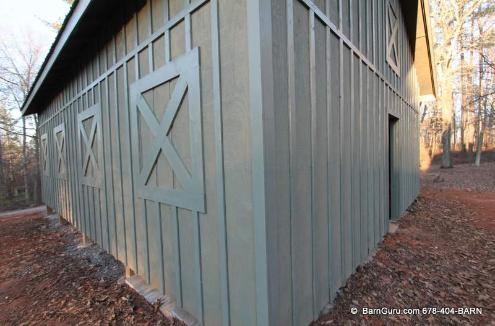Post And Beam Tractor Sheds - Builder In Ga