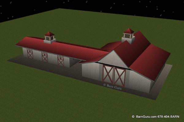 Remodel Older Horse Barn In Ga design plans