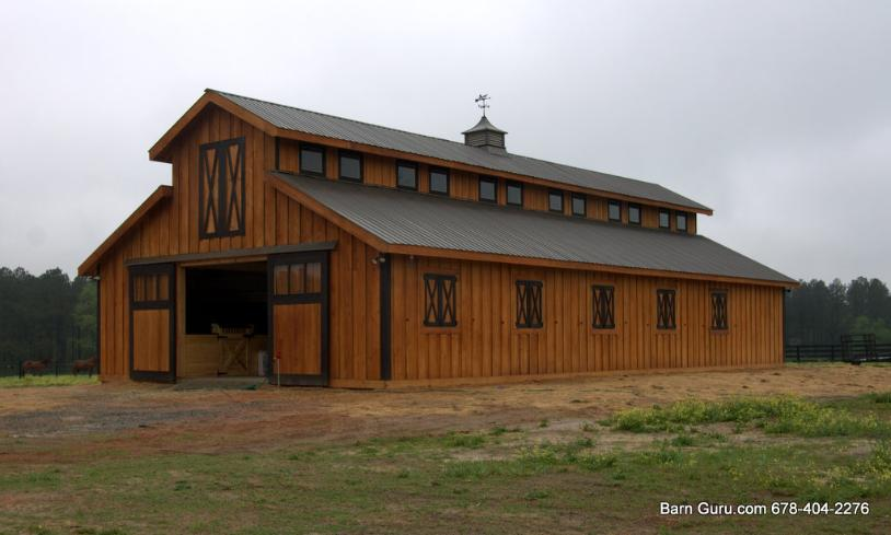 Monitor barns in georgia joy studio design gallery for Barn designs for horses