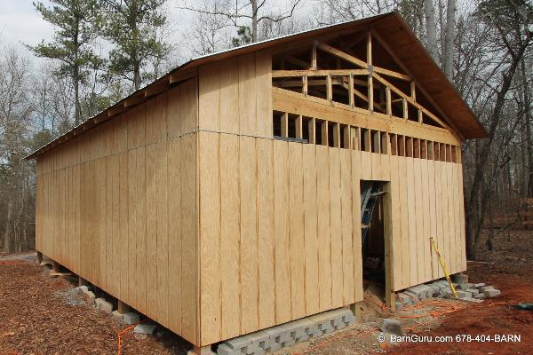 Siding Options For Horse Barns