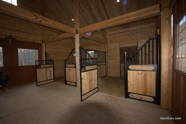 2 stall horse barn for 2 stall horse barn