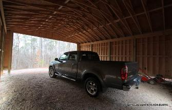 My Truck - It always Goes To Work With Me - I am A Barn Builder In Ga
