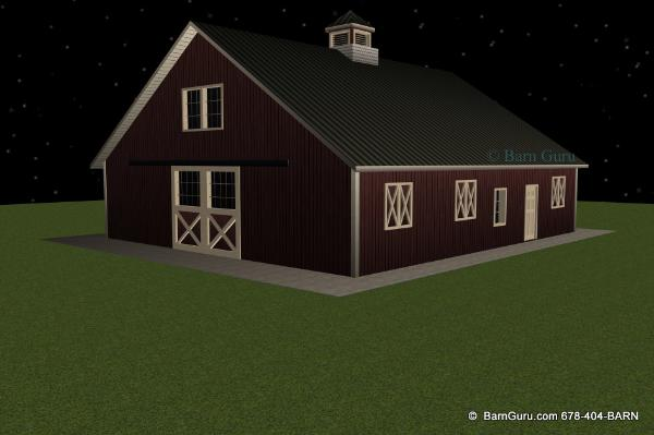 Horse Barn Plans for Sale