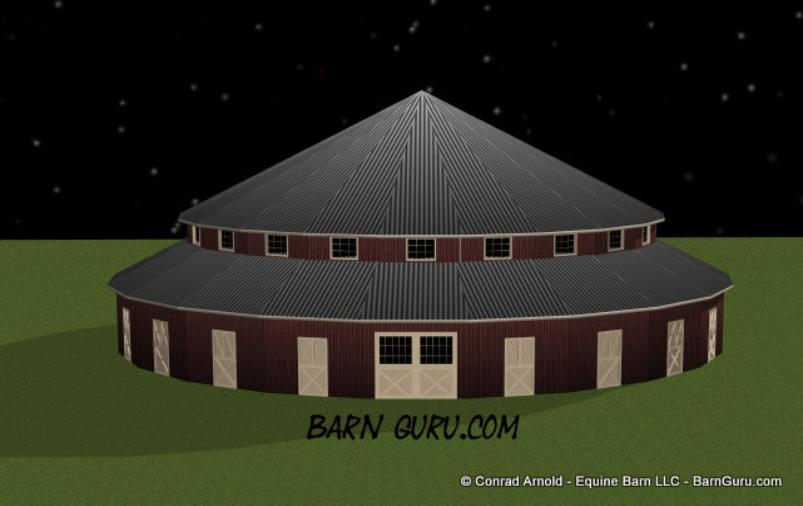 Horse Front Horse Barn Plans
