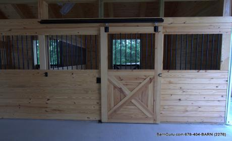 how to build your own horse stalls